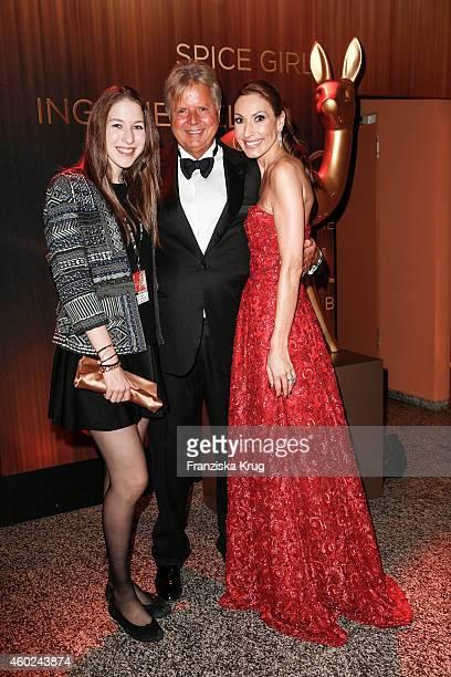 Alana Siegel Karlheinz Koegel and Dagmar Koegel attend the Bambi Awards 2014 after show party on November 14 2014 in Berlin Germany