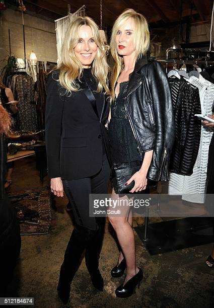 Alana Stewart and Kimberly Stewart attend Church Boutique and Sama Eyewear celebration 'Shades Bubbles And Baubles' for Loree Rodkin's birthday on...