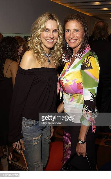 Alana Stewart and Mimi Rogers during A Testoni and Movieline Host Grand ReOpening of Rodeo Drive Store at A TestoniBeverly Hills Store in Beverly...