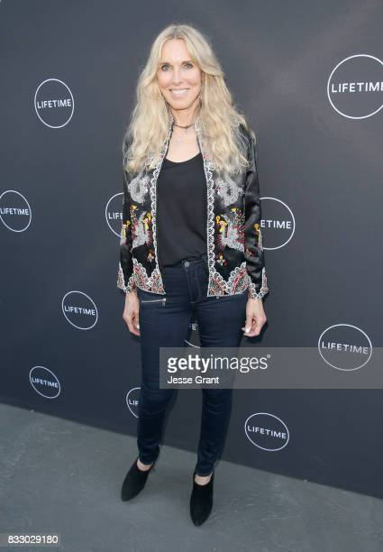 Alana Stewart attends Lifetime's New Docuseries 'Growing Up Supermodel's' Exclusive LIVE Viewing Party Hosted By Andrea Schroder on August 16 2017 in...