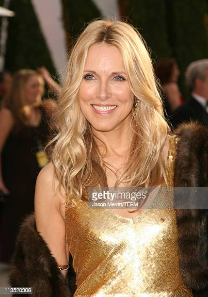 Alana Stewart during 2006 Vanity Fair Oscar Party at Morton's in West Hollywood California United States