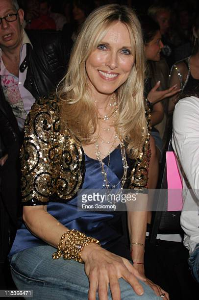 Alana Stewart during Cadillac Presents Rock Republic Fall 2005 Fashion Show Backstage and Front Row at Sony Studios in Culver City California United...