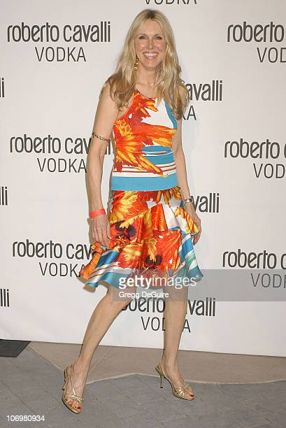 Alana Stewart during Fashion Designer Roberto Cavalli Celebrates The Launch Of Roberto Cavalli Vodka Arrivals at Private Residence in Holmby Hills...