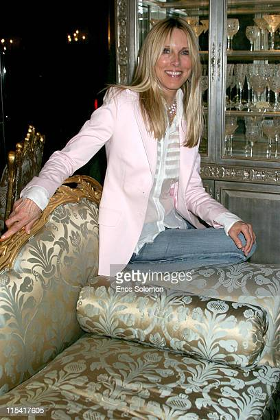 Alana Stewart during Jennifer Lehr Book Release Party Hosted by Bianca Jagger September 6 2005 at Phyllis Morris Showroom in West Hollywood...