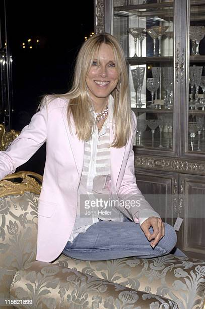 Alana Stewart during Jennifer Lehr Book Release Party 'IllEquiped For A Life Of Sex' Hosted By Bianca Jagger at Phyllis Morris Showroom in West...