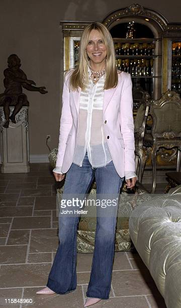 Alana Stewart during Jennifer Lehr Book Release Party IllEquiped For A Life Of Sex Hosted By Bianca Jagger at Phyllis Morris Showroom in West...