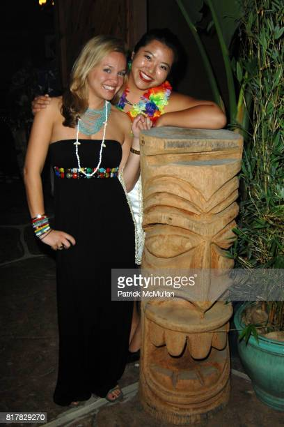 """Alana Tabacco and Cathy Kim-Howe attend HEARST CASTLE PRESERVATION FOUNDATION 2010 """"Beach Boy Blast"""" at Hearst Dairy on October 9, 2010 in San..."""