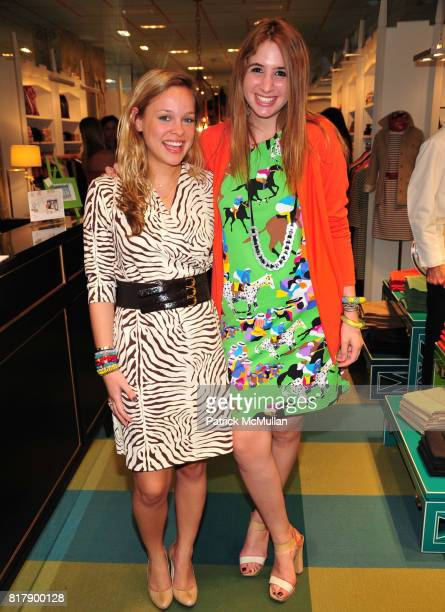 Alana Tabacco and Sophia Signorelli attend Opening Party for the new Lexington Avenue J McLaughlin Stores at 1004 Lexington Ave at 72nd St on...