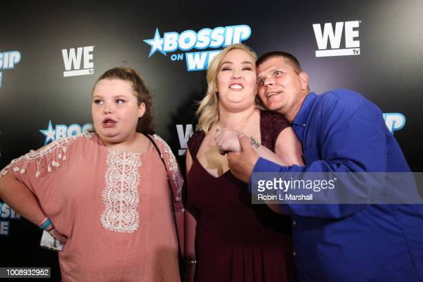 Alana Thompson June Shannon and Geno attends the 2nd Annual Bossip Best Dressed List event at Avenue on July 31 2018 in Los Angeles California