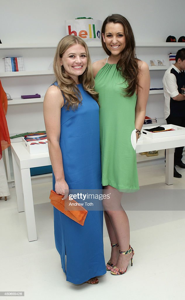 Alanagh Cook (L) and Frynn Hale attend Hamptons Magazine celebrates The New Lisa Perry store on June 14, 2014 in East Hampton, New York.