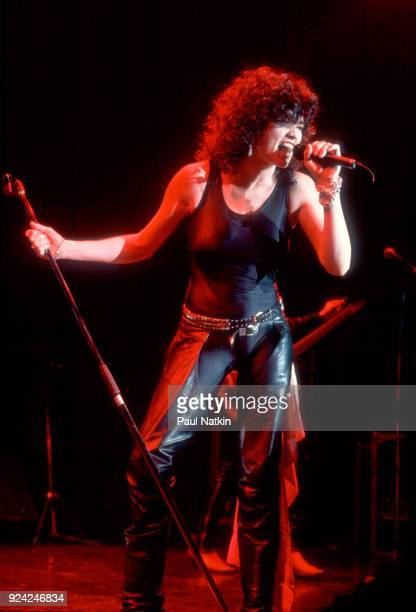 Alanah Myles performing at the Park West in Chicago Illinois April 14 1990