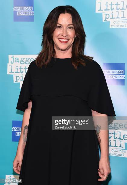 Alanis Morissette attends the opening night of the broadway show Jagged Little Pill' at Broadhurst Theatre on December 05 2019 in New York City