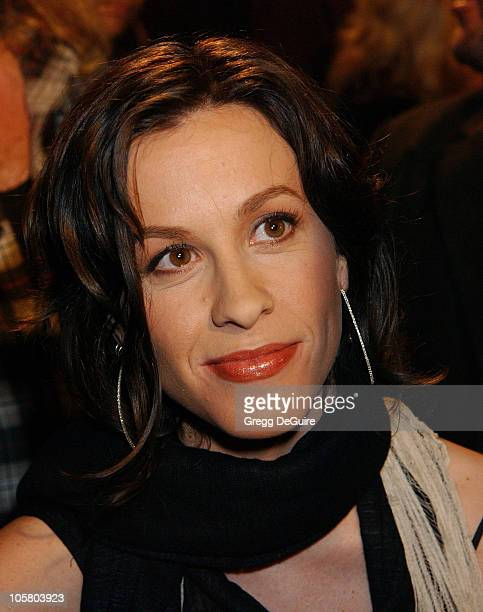 Alanis Morissette during 13th Annual Environmental Media Awards at The Ebell Theatre in Los Angeles California United States