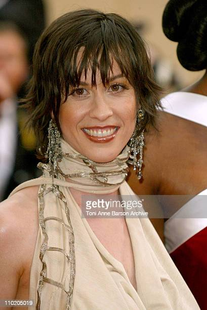 Alanis Morissette during 2004 Cannes Film Festival 'De Lovely' Premiere And Closing Ceremony at Palais Des Festival in Cannes France