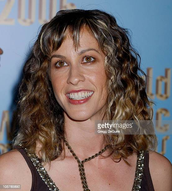 Alanis Morissette during 2005 World Music Awards Arrivals at Kodak Theatre in Los Angeles CA United States