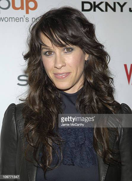 Alanis Morissette during DKNY Jeans Presents Vanity Fair in Concert With a Live Performance by Alanis Morissette Benefiting Step Up Women's Network...