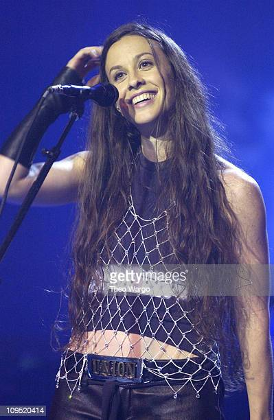 Alanis Morissette during Oxygen Presents 'Alanis Morissette Custom Concert' at Sony Studios at Sony Studios in New York City New York United States