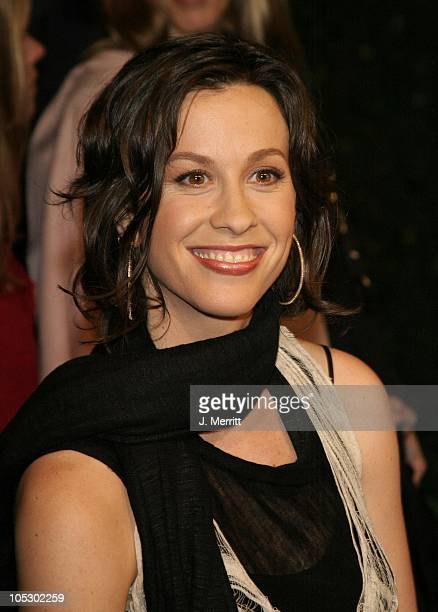 Alanis Morissette during The 13th Annual Environmental Media Awards at The Ebell Theatre in Los Angeles California United States