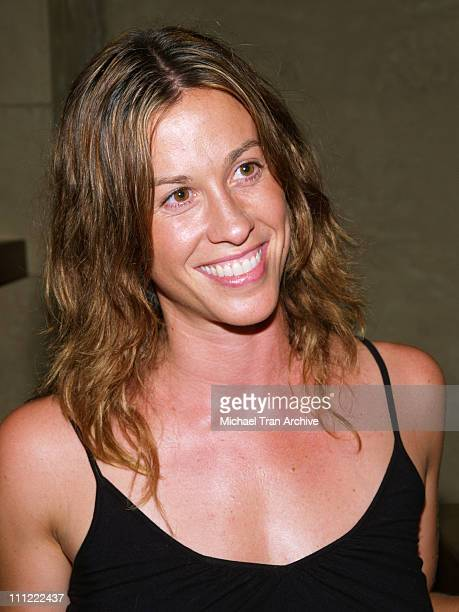 Alanis Morissette during Thompson Media Presents 'LA Suite' World Premiere Party July 26 2006 at Hollywood Roosevelt Hotel in Hollywood California...