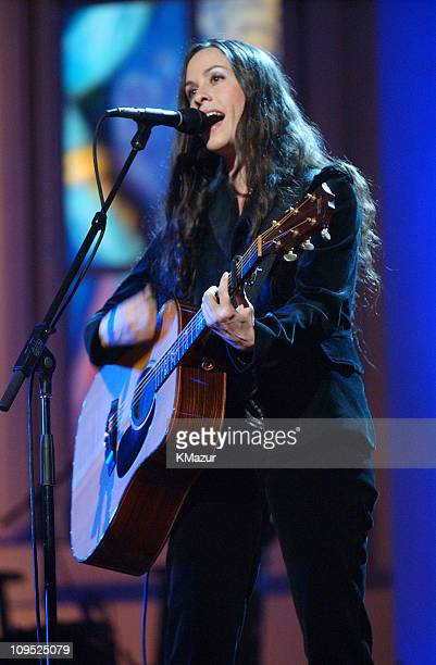 Alanis Morissette during TNT'Come Together' A Night for John Lennon's Words Music Dedicated to New York City and its People Show at Radio City Music...