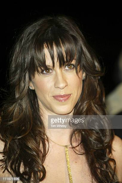 Alanis Morissette during UK Hall of Fame November 16 2005 at Alexandra Palace in London Great Britain