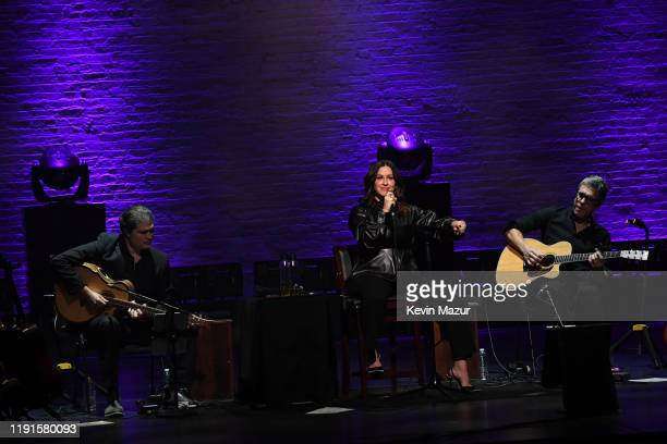 Alanis Morissette One Night Only Performing Jagged Little Pill at The Apollo Theater on December 02 2019 in New York City