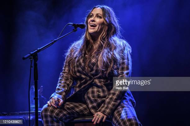 Alanis Morissette performs at O2 Shepherd's Bush Empire on March 04 2020 in London England