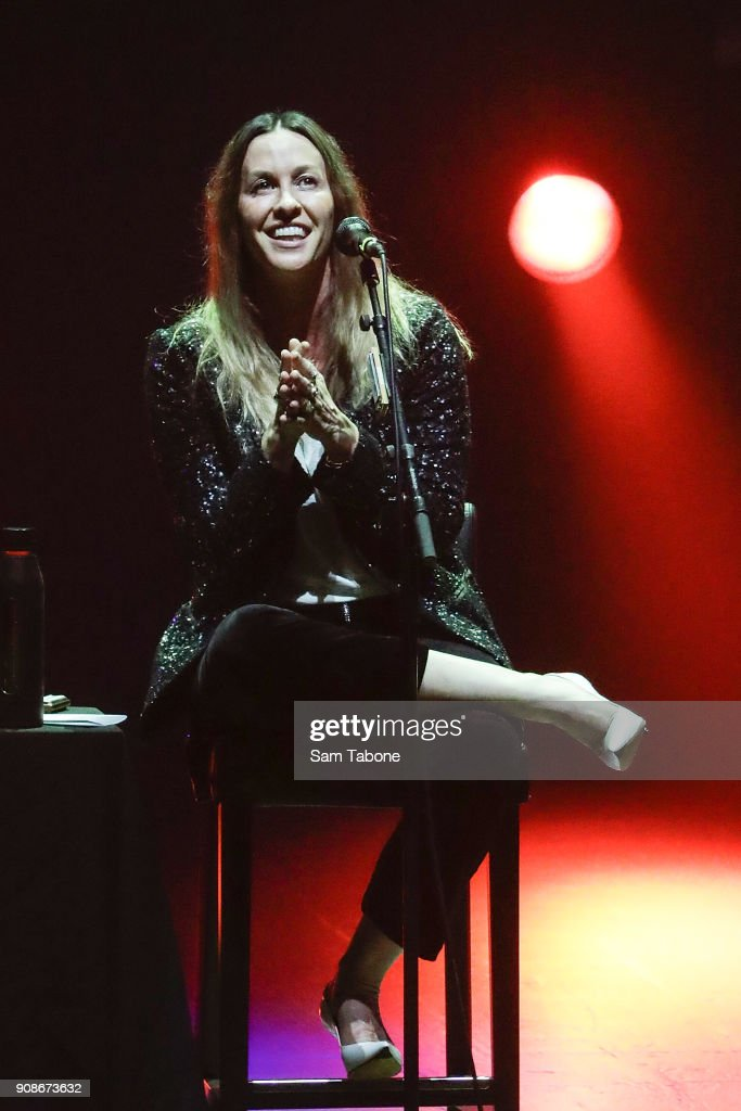 Alanis Morissette Performs In Melbourne