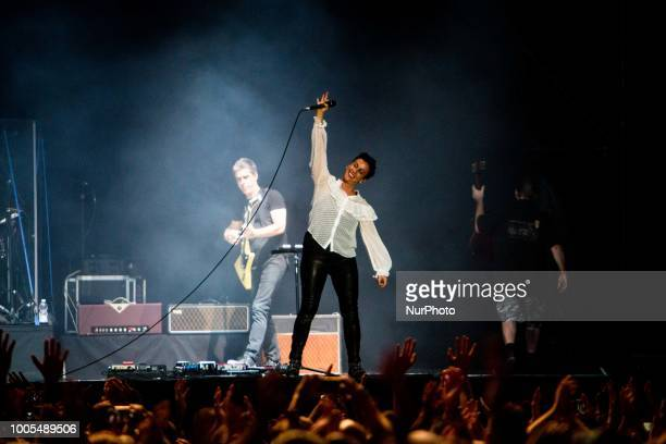 Alanis Morissette performs live at Ippodromo SNAI in Milano Italy on 25 July 2018