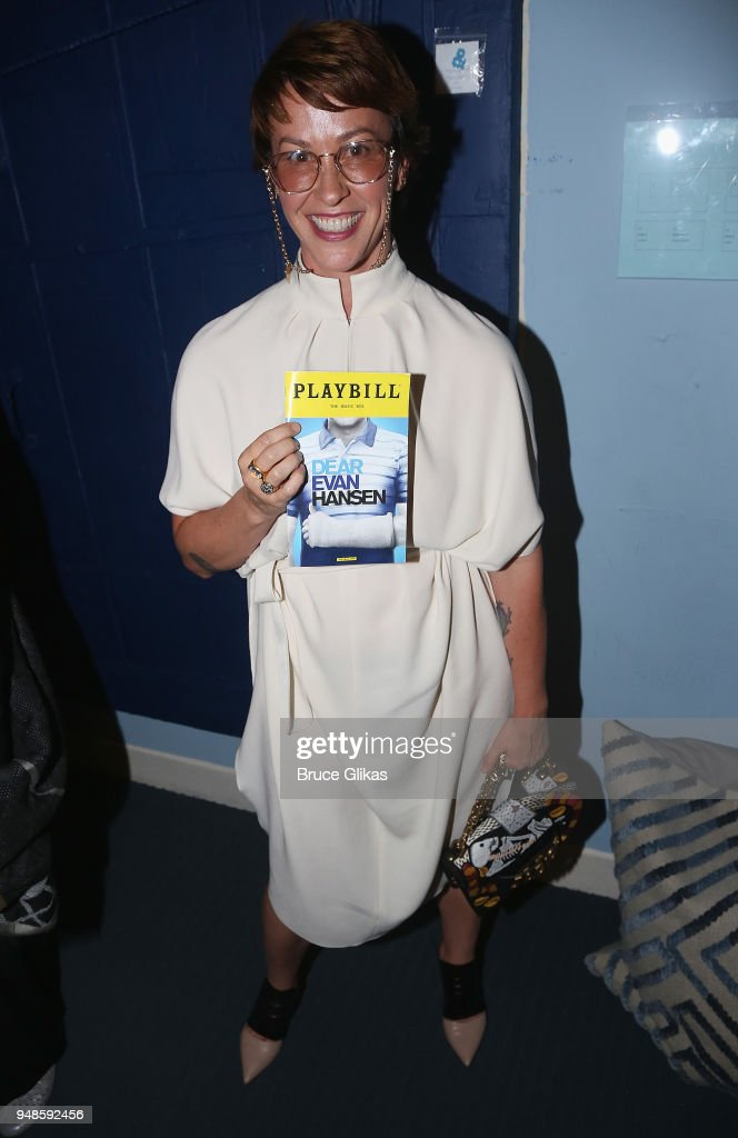 Celebrities Visit Broadway - April 18, 2018 : News Photo