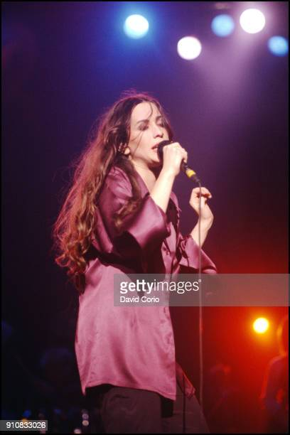 Alanis Morrisette performing at Wilkens Auditorium St Pauls Minnesota USA on March 1 1996
