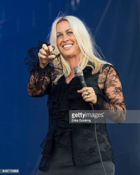 Alanis Morrisette performs during KAABOO Del Mar at the Del Mar Fairgrounds on September 17 2017 in Del Mar California