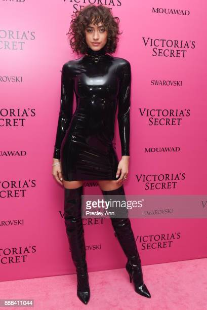 Alanna Arrington attends 2017 Victoria's Secret Fashion Show In Shanghai After Party at MercedesBenz Arena on November 20 2017 in Shanghai China