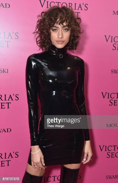 Alanna Arrington attends the 2017 Victoria's Secret Fashion Show In Shanghai After Party at MercedesBenz Arena on November 20 2017 in Shanghai China