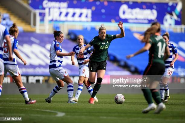 Alanna Kennedy of Tottenham Hotspur during the Vitality Women's FA Cup Fourth Round match between Reading Women and Tottenham Hotspur Women at...