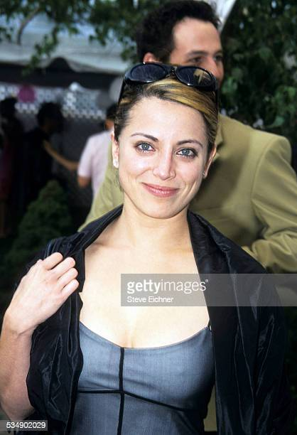 Alanna Ubach at premiere of 'Legally Blonde,' New York, July 7, 2001.