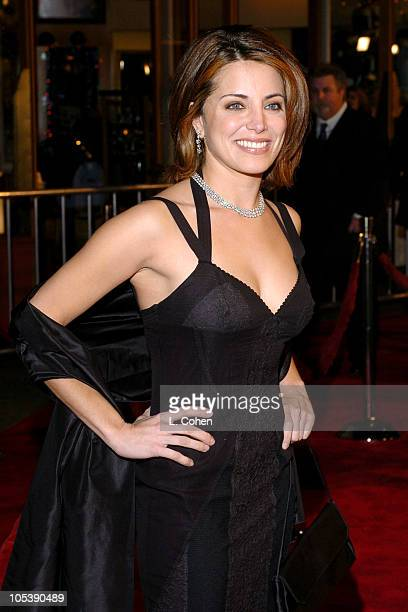Alanna Ubach during 'Meet the Fockers' Los Angeles Premiere Red Carpet at Universal Amphitheatre in Los Angeles California United States