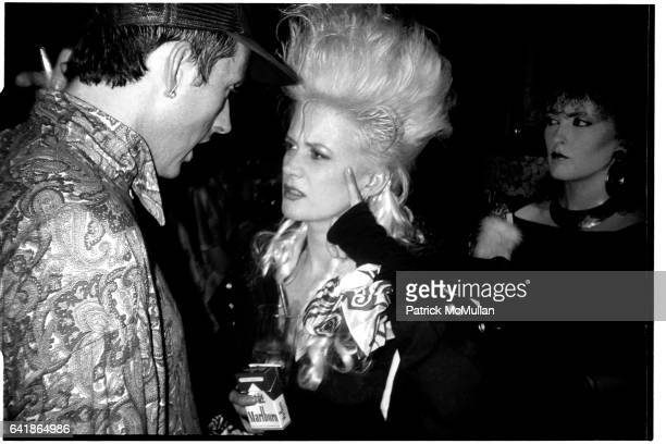 Alannah Currie from the Thompson Twins at the Limelight Opening in London July 15 1986