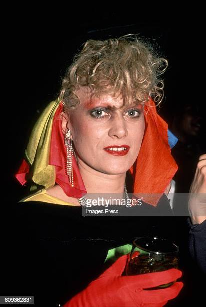 Alannah Currie of The Thompson Twins circa 1984 in New York City