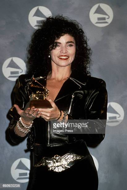 Alannah Myles attends the 33rd Annual Grammy Awards circa 1991 in New York City