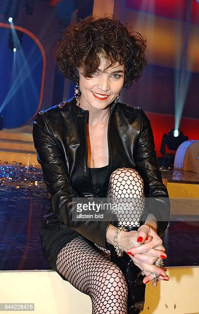 Alannah Myles Sängerin Kanadain der Sat1 Sendung 'Die Hitgiganten 90er Hits'