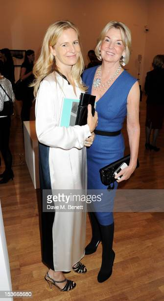 Alannah Weston and Hilary Weston attend a Gala Opening of 'RA Now' a new exhibition at the Royal Academy of Arts on October 8 2012 in London England