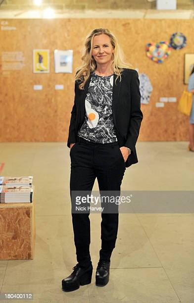 Alannah Weston attends ICA OffSite at the Old Selfridges Hotel on September 12 2013 in London England
