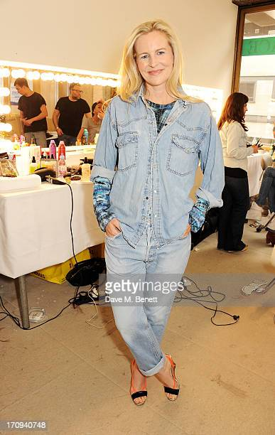 Alannah Weston attends the launch of 'Denim Lovers' Selfridges' new advertising campaign featuring Jourdan Dunn and Rosie Tapner cocreated by a...