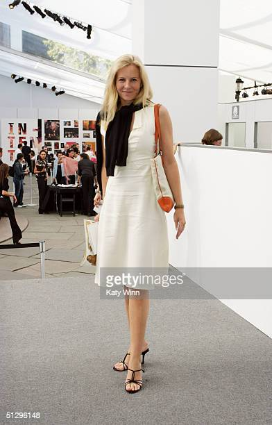 Alannah Weston of Self Riches London is seen outside during the Olympus Fashion Week Spring 2005 September 12 2004 in New York City