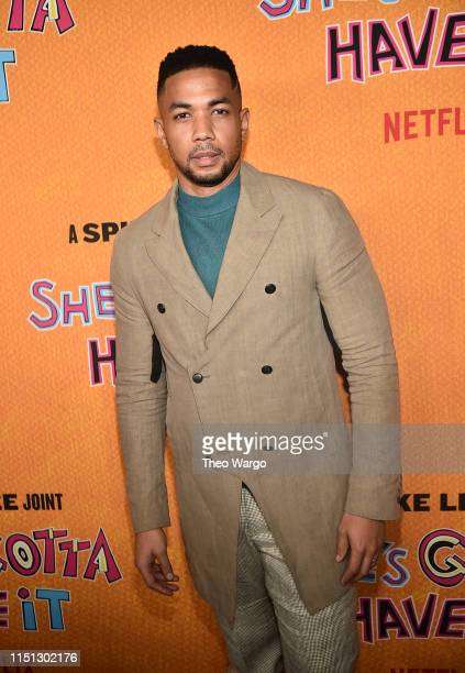 Alano Miller attends the She's Gotta Have It Season 2 Premiere at Alamo Drafthouse on May 23 2019 in Brooklyn New York