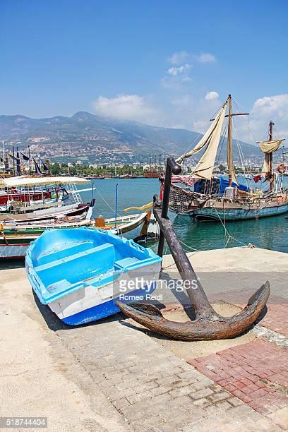 Alanya - in the docks
