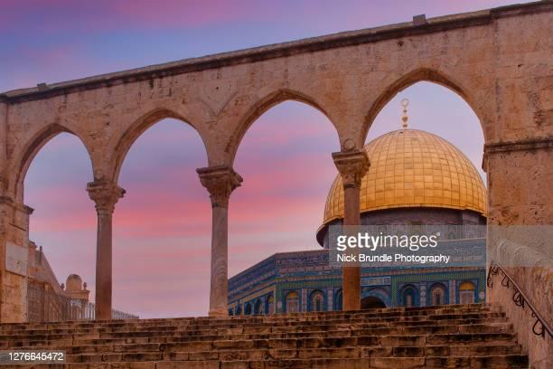 al-aqsa mosque, jerusalem, israel - jerusalem stock pictures, royalty-free photos & images
