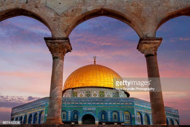 al-aqsa mosque, jerusalem, israel - jerusalem old city stock pictures, royalty-free photos & images