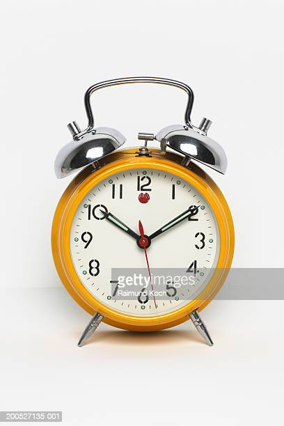 Alarm clock, front view, studio shot